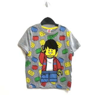 Boys cotton knitted Tee#Lego man