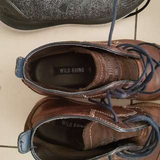 Rhino leather shoes size 42