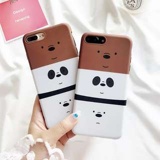 Ready stock we bare bear iphone case