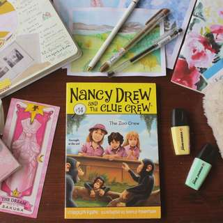 Nancy Drew and The Clue Crew #14: The Zoo Crew