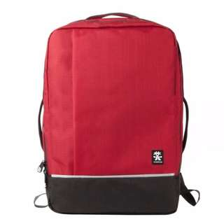 *** PROMO CLEARANCE ** Crumpler Proper Roady Backpack L Deep Red / Black / Navy  / Green Moss