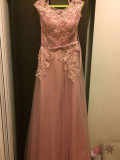 Old Rose Long Gown