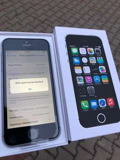 5S Factory Unlocked Original Apple iPhone 5S 16GB ROM 8MP Touch ID iCloud App Store WIFI GPS 4.0 inch Fingerprint IOS