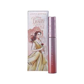 Cute press beauty and the beast comfort matte liquid lip in 01