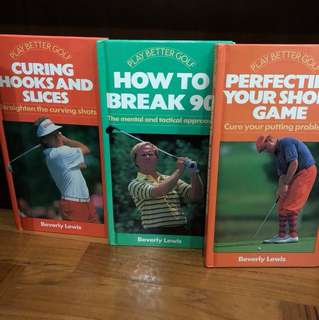 Play Better Golf - Books