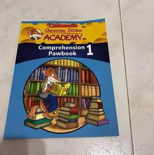 Geronimo Stilton Academy Comprehension PawBook 1