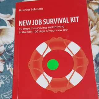 New Job Survival Kit business solutions book