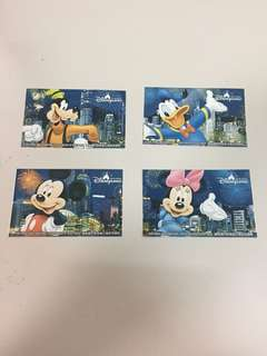 迪士尼樂園門票 紀念收藏用 (已用)