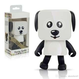 Smart Entertainment Mini USB Bluetooth Speaker Dancing Dog Robot