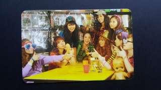[VERY RARE] SNSD Oh! Photocard