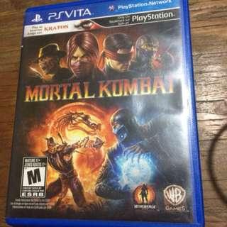 PS Vita game Mortal Kombat R1