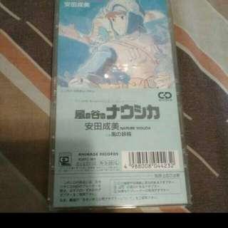 (破底價售$98+包平郵) 宮崎駿 風之谷 日本88年初版細碟
