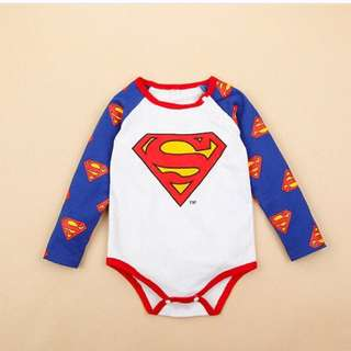 Superman Baby Rompers