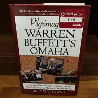 Pilgrimage To Warren Buffett's Omaha - Book