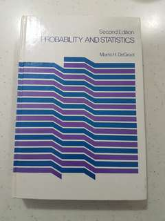 Probability And Statistics 2nd Edition