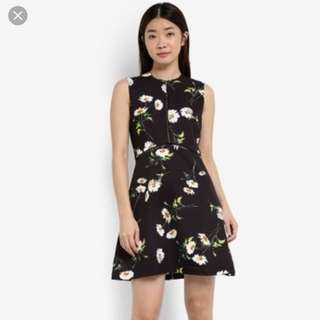 Zalora Trim Dress