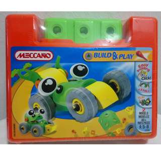 Build & Play Car by Meccano