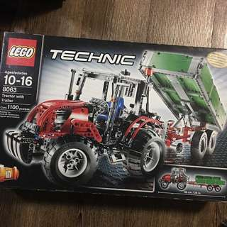 LEGO Technic Set 8063 Tractor with Trailer
