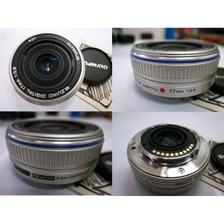 Olympus M Zuiko Digital 17mm f2.8 Lens $180