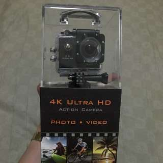 4K Ultra Action HD Cam