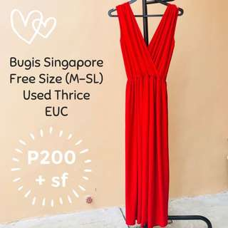 SALE! Only Today 🌟 Beautiful Long Red Dress