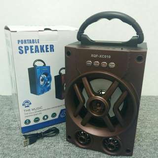 Bluetooth Speaker (Wire+less)