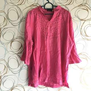 [PRICE REDUCED] Pink Blouse L-XL