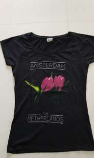 Unique in Singapore. T-Shirt from Amsterdam, Holland