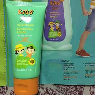Tupperware Brand Kids Plus Sun Protect Sunscreen Lotion SPF30 50mL