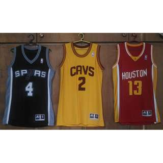 HQ NBA Replica Jerseys (James Harden/Kyrie Irving/Danny Green)