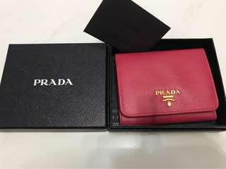 Authentic Prada wallet for sale!!