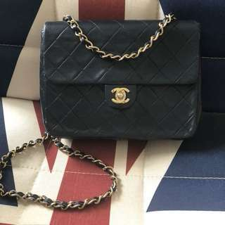 Chanel vintage cross body (20cm) 可交換