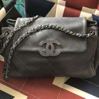 Chanel Hampton bag (aged calfskin) 可交換chanel 不同款