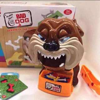 Bad dog family game toy