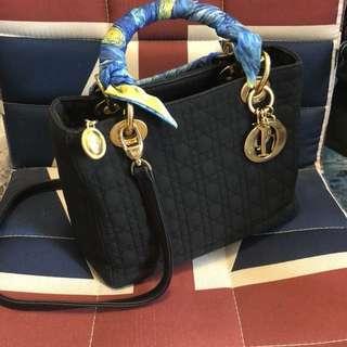 Christian Dior ladydior Nylon Bag 可交換
