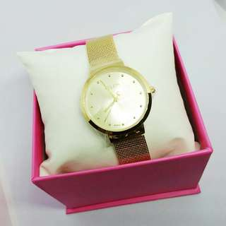 Jam Tangan Julius Gold