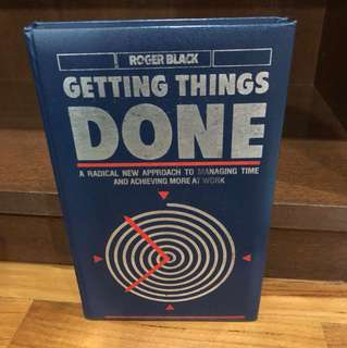 Getting Things Done - Roger Black