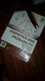 STATISTICS AND PROBABILITY K12