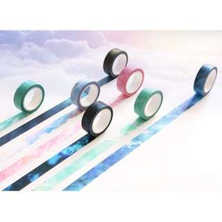 Washi Tape - Galaxy set of 7