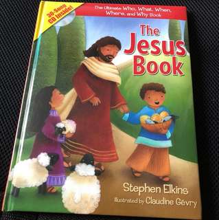 The Jesus book with cd