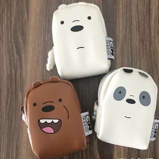 *PREORDER* We Bare Bears Coin Pouch