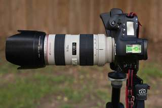 Canon 70-200mm F2.8 IS II USM L lens