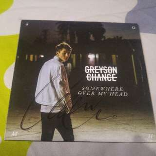 Grayson Chance CD Album Signed Signature Tour