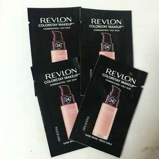 Revlon colorstay foundation sample