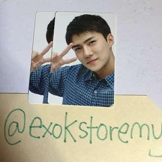 EXO SUM Official Let's Go Elyxion Sehun Photocard