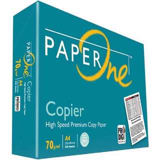 PaperOne Copier Paper 70gsm A4 size Paper
