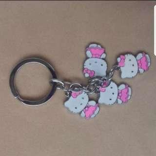 In stock hello kitty keychain