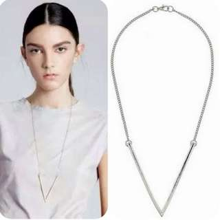CLEARANCE | F21 Inspired V Minimalist Necklace