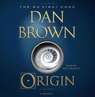 Dan Brown - Origin: A Novel Audiobook, CD, Unabridged