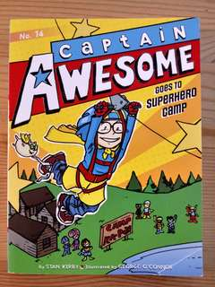 Captain Awesome-Goes to superhero Camp